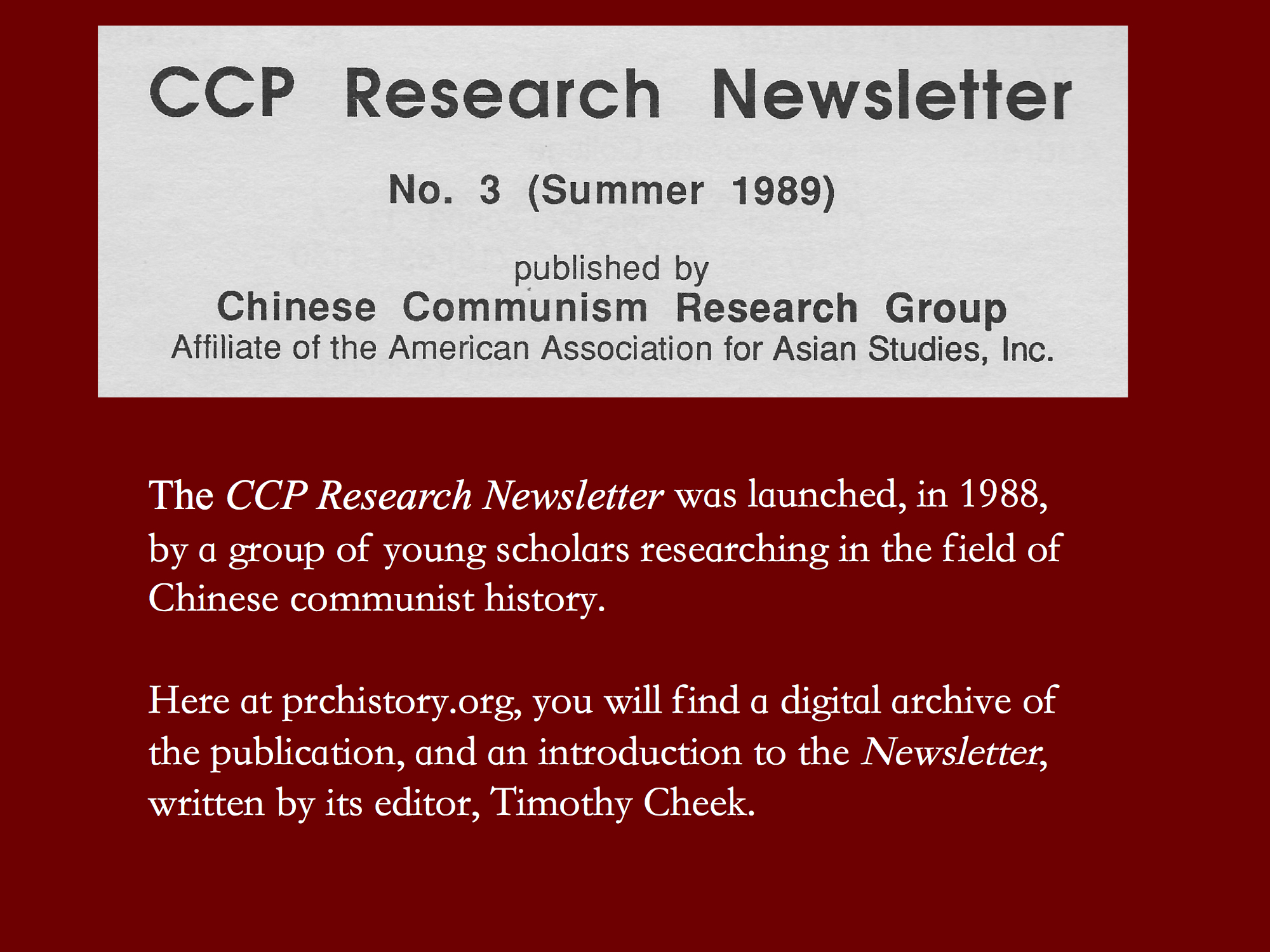 CCP Research Newsletter header copy
